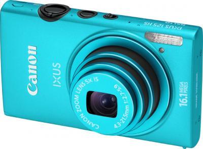 Компактный фотоаппарат Canon IXUS 125 HS Blue - общий вид