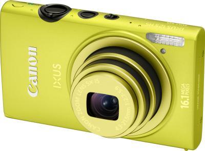Компактный фотоаппарат Canon IXUS 125 HS Green - общий вид