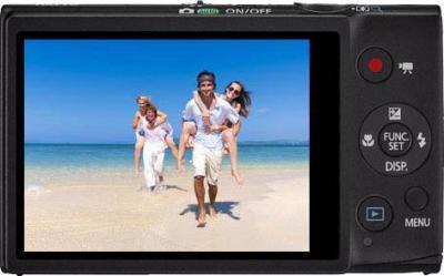 Компактный фотоаппарат Canon Digital Ixus 127 HS BLACK - общий вид
