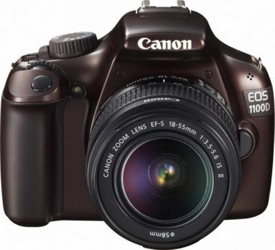 Зеркальный фотоаппарат Canon EOS 1100D Kit 18-55mm IS II Brown - общий вид
