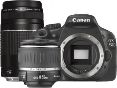 Зеркальный фотоаппарат Canon EOS 550D Black - общий вид