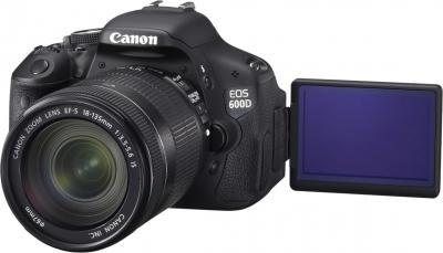 Зеркальный фотоаппарат Canon EOS 600D Kit 18-135mm IS - общий вид