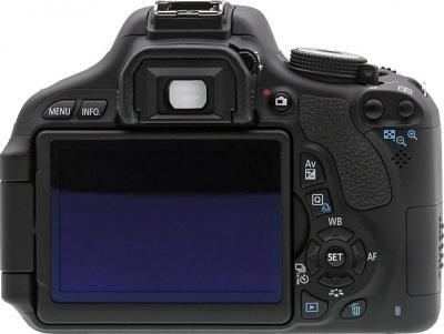 Зеркальный фотоаппарат Canon EOS 600D Kit 18-135mm IS - вид сзади