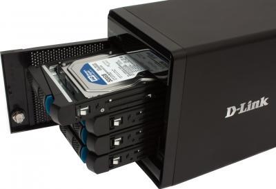 Сетевой накопитель D-Link ShareCenter Pro 1100 (DNS-1100-04) - изнутри
