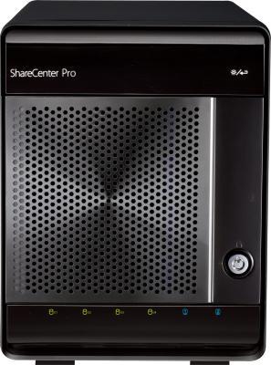 Сетевой накопитель D-Link ShareCenter Pro 1100 (DNS-1100-04) - фронтальный вид
