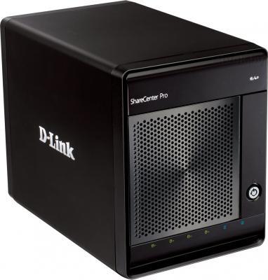 Сетевой накопитель D-Link ShareCenter Pro 1100 (DNS-1100-04) - общий вид