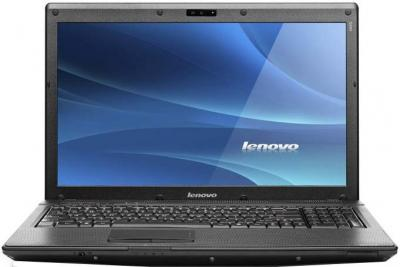 Ноутбук Lenovo IdeaPad G560 (59329392) - фронтальный вид