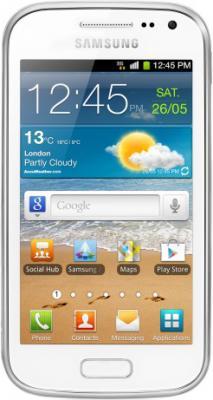 Смартфон Samsung i8160 Galaxy Ace 2 White (GT-I8160 ZWASER) - общий вид