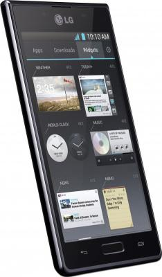 Смартфон LG P705 Optimus L7 Black - внешний вид