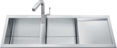 Мойка кухонная Smeg LQ116D - общий вид