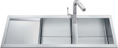 Мойка кухонная Smeg LQ116S - общий вид
