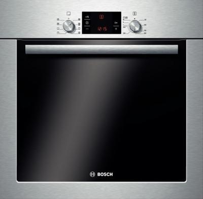 Электрический духовой шкаф Bosch HBA63U351S - общий вид