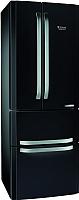 Холодильник с морозильником Hotpoint E4DAAB/C -