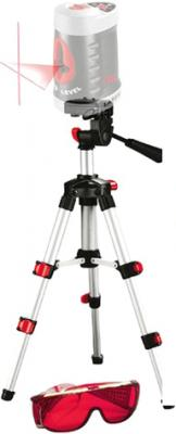 Нивелир Skil 0515 AB (+ штатив) - установка на треногу и очки