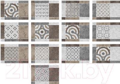 Декоративная плитка Керамин Калейдоскоп 3м (400x275)