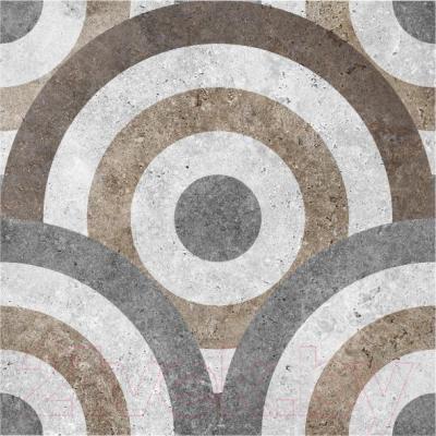 Декоративная плитка для ванной Керамин Калейдоскоп 3д (400x400)