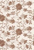 Декоративная плитка Керамин Панно Мишель 7с/1 (400x275, коричневый) -