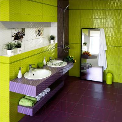 Декоративная плитка для ванной Керамин Примавера 5 (400x275)