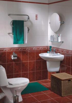 Бордюр для ванной Керамин Рим 3 (200x15)