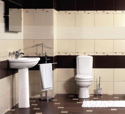 Бордюр для ванной Керамин Сакура 1 (400x62)