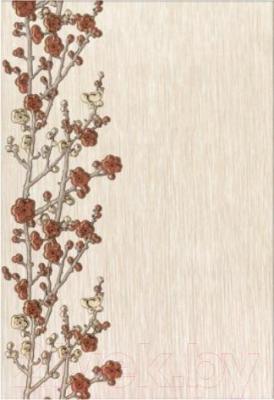 Декоративная плитка для ванной Керамин Панно Сакура 1н (400x275)