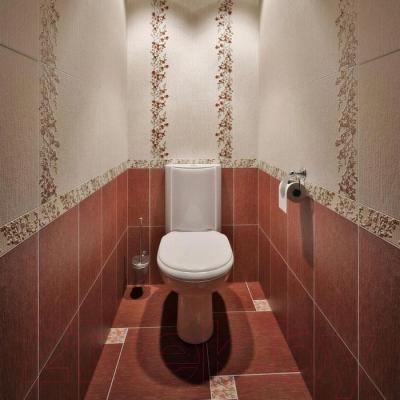 Плитка для стен ванной Керамин Сакура 1т (400x275)