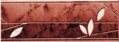 Бордюр для ванной Керамин Рим 3л (200x71)