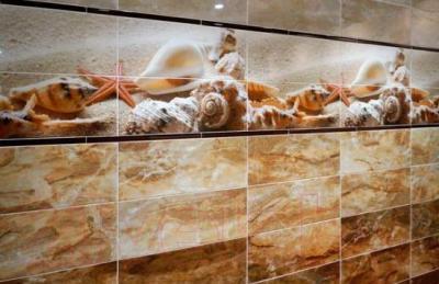 Декоративная плитка для ванной Керамин Сиерра 3 (500x200)