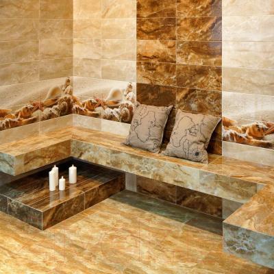 Плитка для пола ванной Керамин Сиерра 4п (400x400)