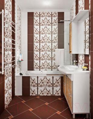 Бордюр для ванной Керамин Тисса 4 (200x15)