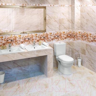 Бордюр для ванной Керамин Романтика (500x47)
