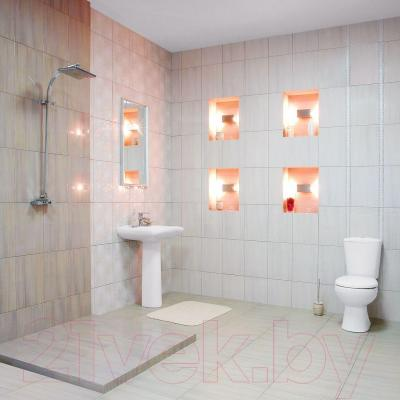 Декоративная плитка для ванной Керамин Панно Шарм 3 (400x275)