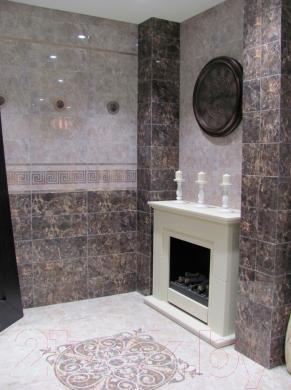 Плитка для пола ванной Керамин Эллада 7п (400x400)