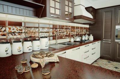 Декоративная плитка для кухни Керамин Рио 7 (300x100)