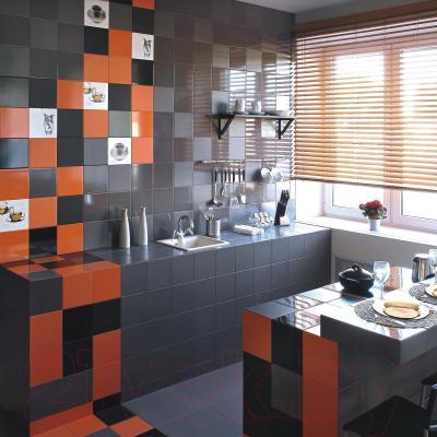 Декоративная плитка для кухни Керамин Сан-Ремо 5 (200x200)