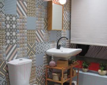 Декоративная плитка Керамин Панно Фристайл 3 (200x200)