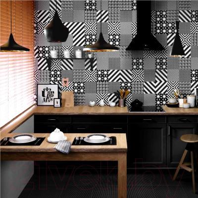 Декоративная плитка Керамин Панно Фристайл 5 (200x200)