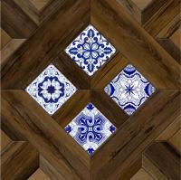 Декоративная  плитка для пола Керамин Калабрия 4д (400x400) -