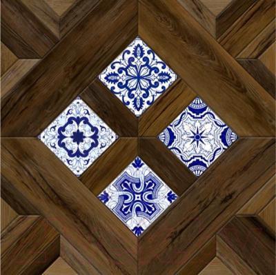Декоративная  плитка для пола Керамин Калабрия 4д (400x400)