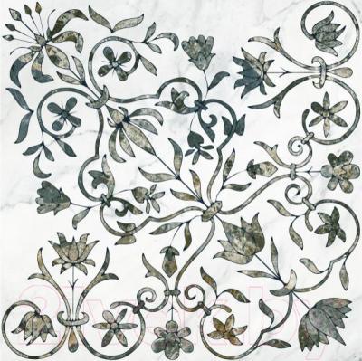 Декоративная  плитка для пола Керамин Каррара 1/1 (500x500)