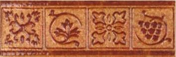 Декоративная  плитка для пола Керамин Котто (400x98)