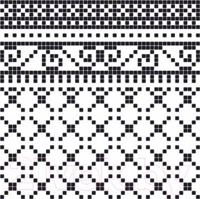 Декоративная плитка Керамин Пиксель 7/2 (400x400)
