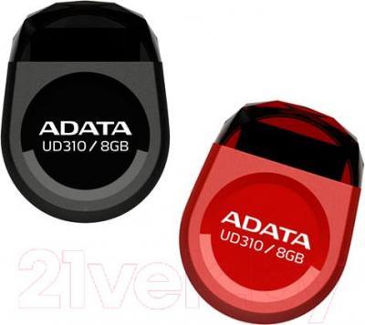 Usb flash накопитель A-data UD310 Black 8Gb (AUD310-8G-RBK)