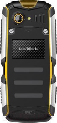 Мобильный телефон TeXet TM-512R (черно-желтый)
