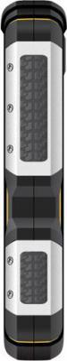 Мобильный телефон TeXet TM-512R (черно-желтый) - вид сбоку