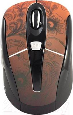 Мышь Crown Micro CMM-927W (коричневый)