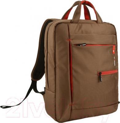 Рюкзак для ноутбука Crown Micro CMBPP-5515 (коричневый) - общий вид