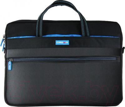 Сумка для ноутбука Crown Micro CMB-553 (черный) - общий вид