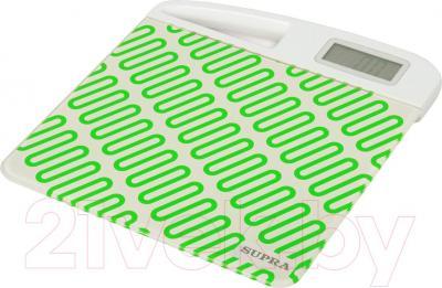 Напольные весы электронные Supra BSS-2060 (зеленый)