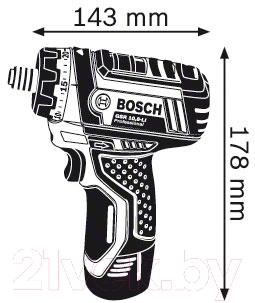 Профессиональная дрель-шуруповерт Bosch GSR 10.8-LI Professional (0.601.992.906)